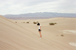 Sarah in Death Valley