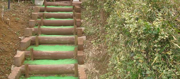 階段や外構、土留め工事もお任せください。(3)-横濱テック