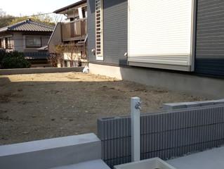 目かくしフェンスとウッドデッキを施工しました。|横濱テック