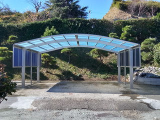 車庫に日よけや門扉の追加、土間のコンクリート施工で愛車を守りませんか。| 横濱テック