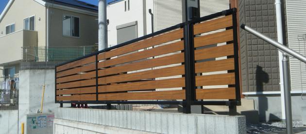 目隠しフェンスの施工もおまかせください。| 横濱テック