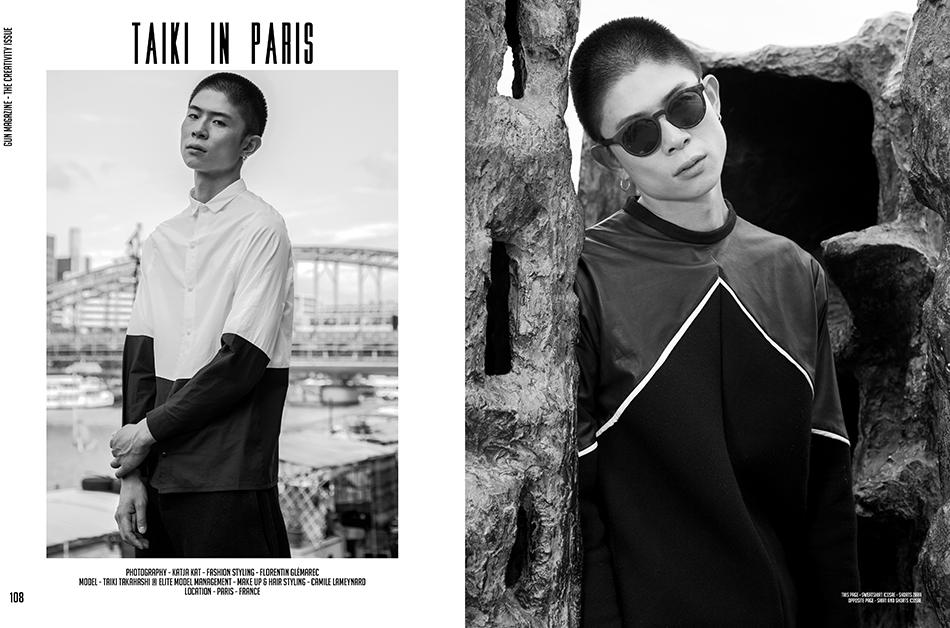 """""""Taiki in Paris"""" Gun Magazine"""