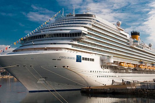 Costa Diadema ile Batı Akdeniz Gemi Turu