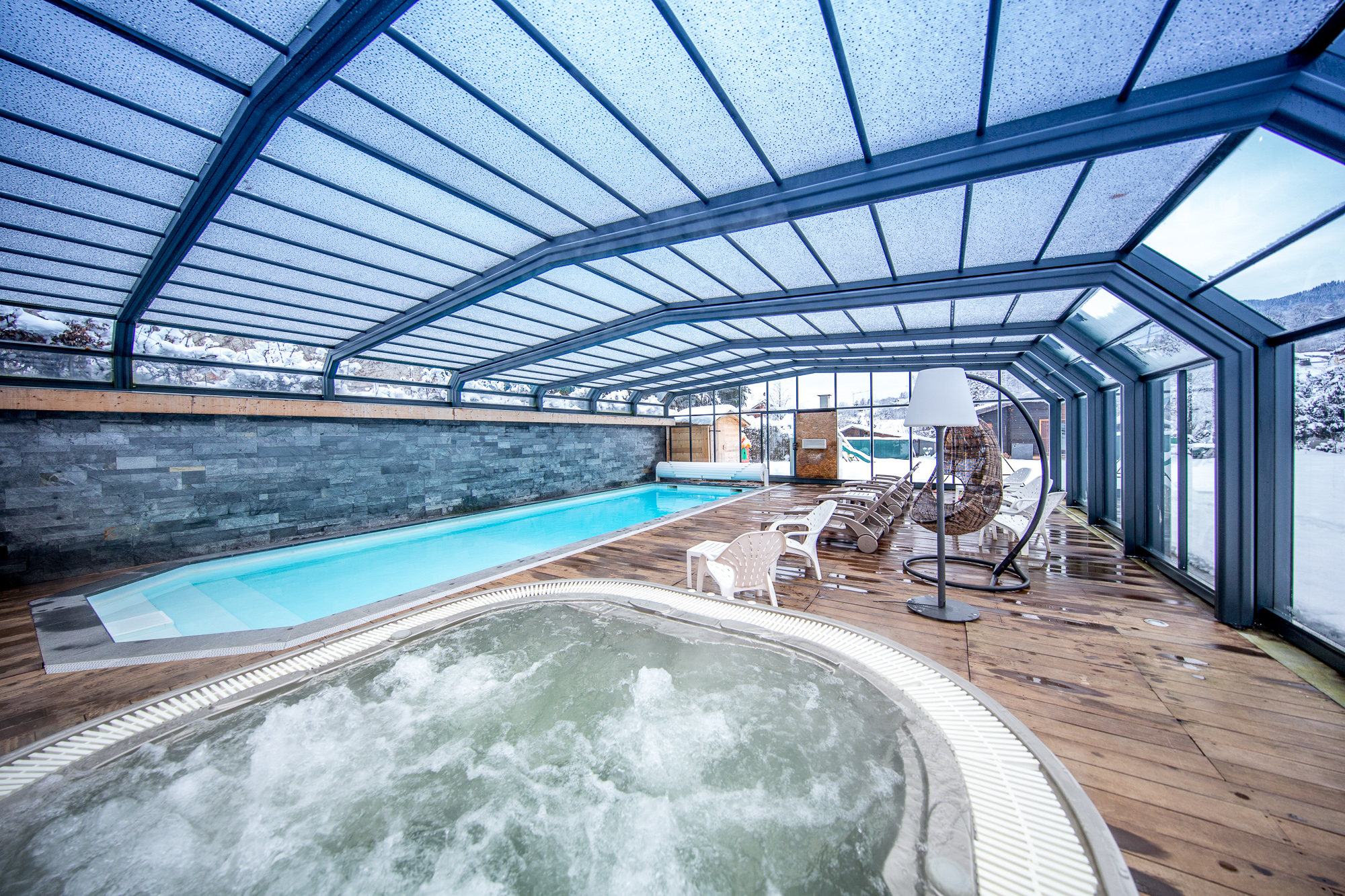 new style 50778 6f664 Wellness area Hotel Gai Soleil in Samoens French Alps
