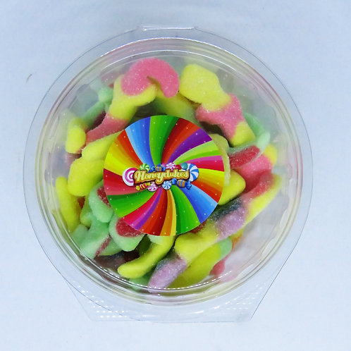 Trolli Sour Lizard Candy Tubs