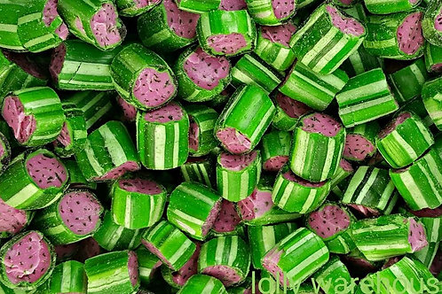 Watermelon Rock Candy Lollies