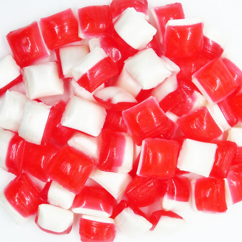 Strawberries and Cream Rock Candy 1kg