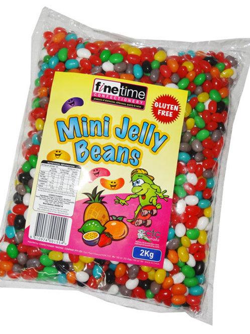 Finetime Mini Jellybeans Candy Lollies