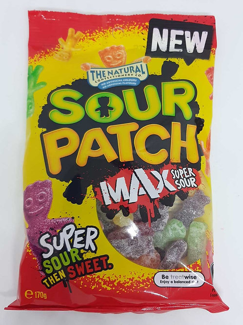 Sour Patch Max Super Sour Natural Confectionery Compan