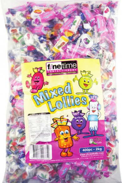 Finetime Mixed Lollies Candy