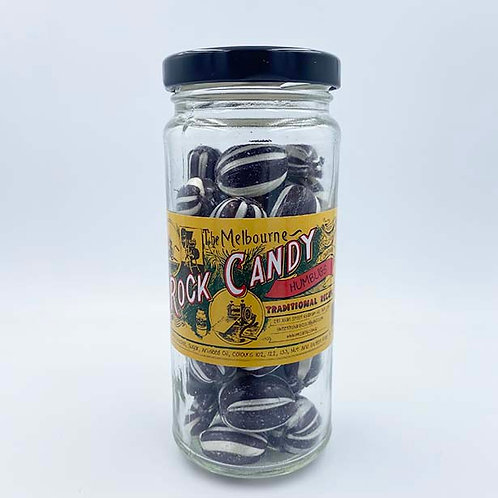 The Melbourne Rock Candy Aniseed Humbugs 170g