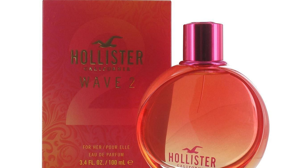 Hollister Wave 2 for Her 100ml EDP Spray