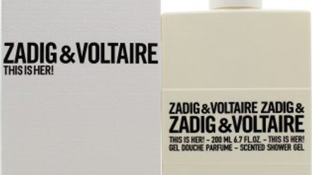 Zadig & Voltaire This is Her! 200ml Shower Gel