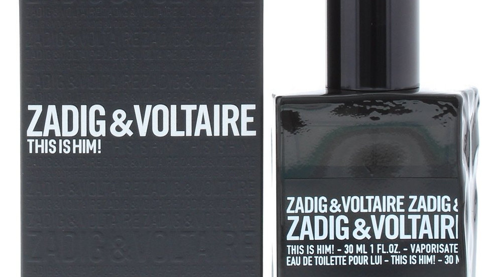 Zadig & Voltaire This is Him! 30ml EDT Spray