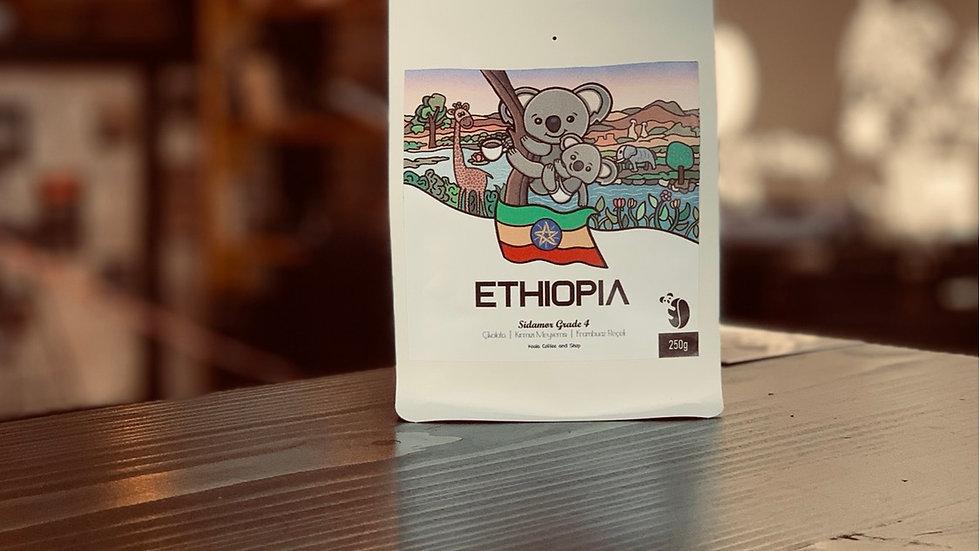 Koala Coffee-Ethiopia Yirgacheffe Gr. 2