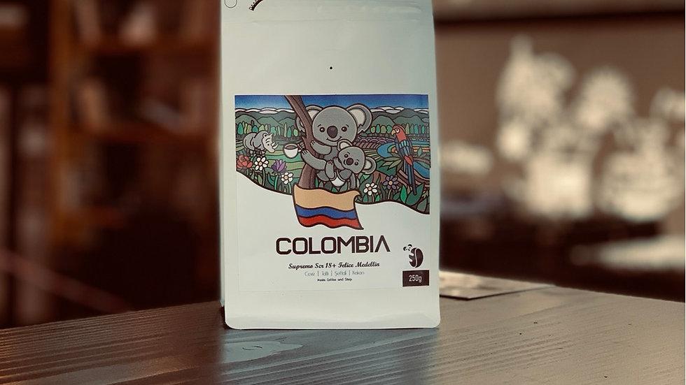Koala Coffee-Colombia Supremo Medellin
