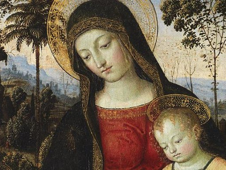 Catholic art ~ THe subject of an exhibition