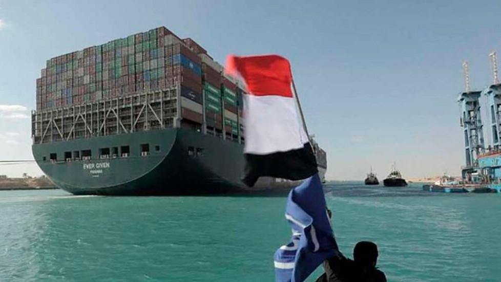 Egypt 'seizes' Suez megaship, demands nearly $1 bn compensation