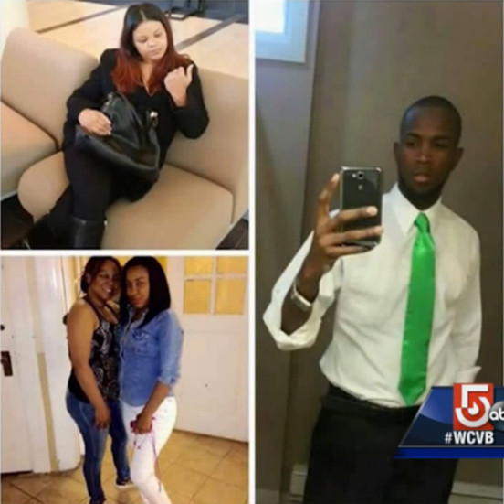 The four family members who perished in the fire. (WCVB-ABC television)