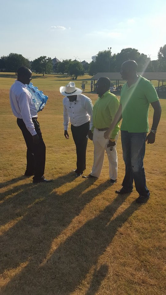 some of Diaspora leadership preparing for the event (AGR FM)