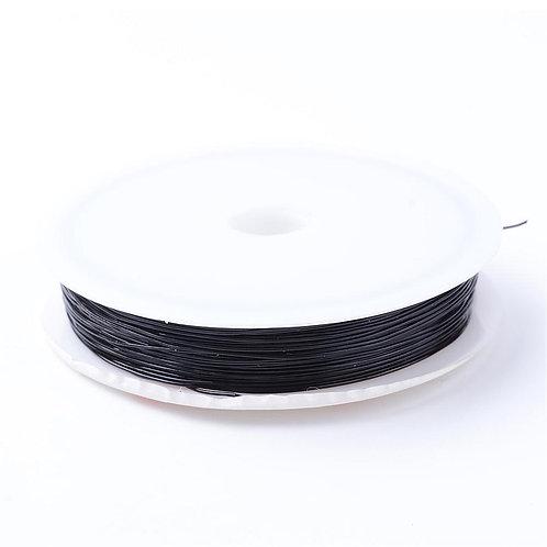 Black Elastic Crystal Thread
