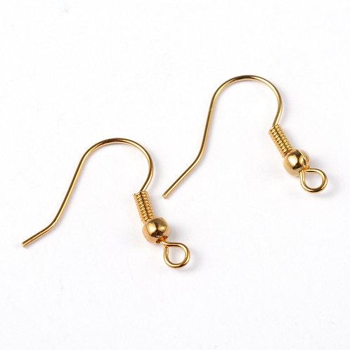 Brass Earring Hooks