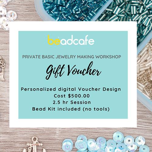 Private Basic Jewelry Making Workshop