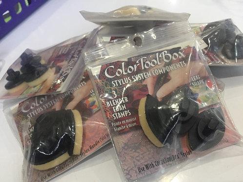 3-pc Blender Foam Stamps