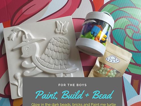Paint, Build + Bead set