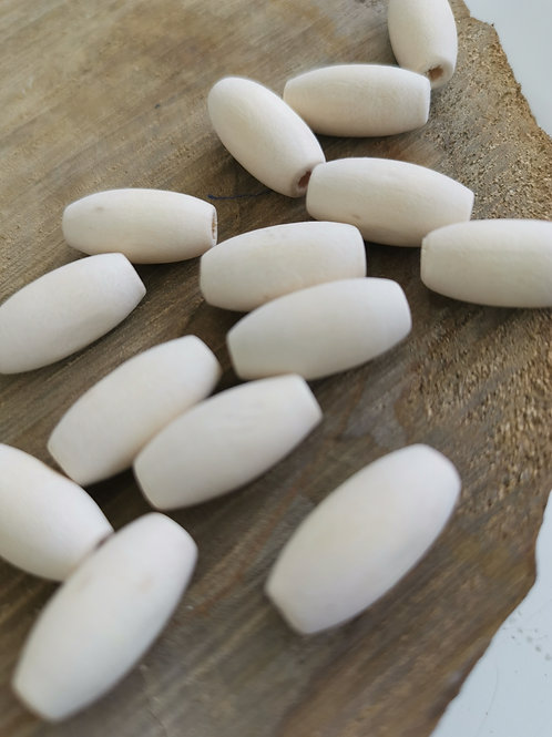 Natural Oval Beads