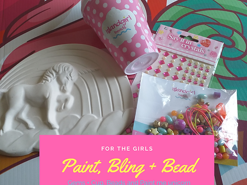 Paint, Bling and Bead set