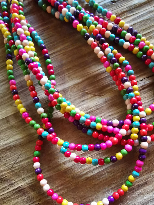 Synthetic Turq Beads 3mm