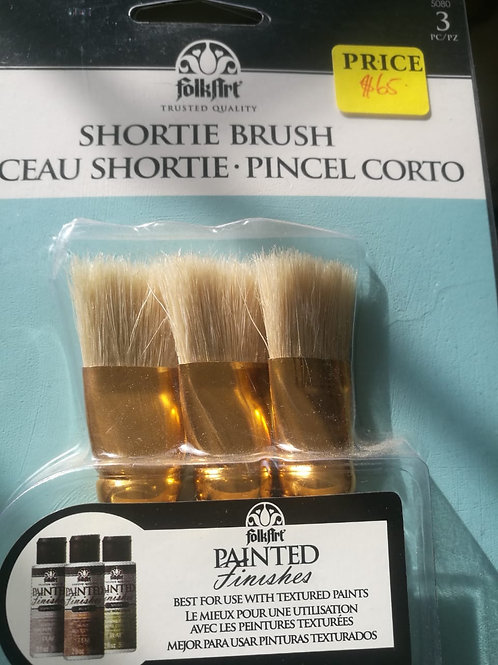 3-pc Shortie Brush Set