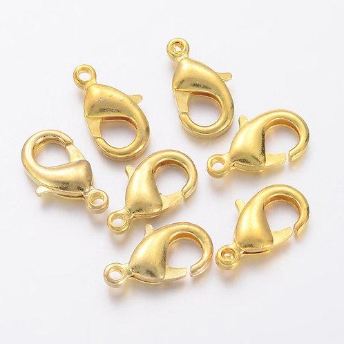 Brass Lobster Clasps