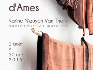 """De Fils et d'Ames"" - Karine N'guyen Van Tham - 1e août > 20 octobre 2019"