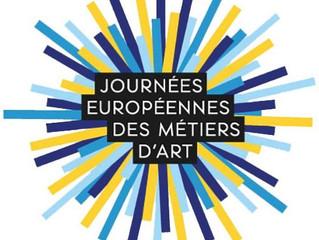 JEMA 2019 - Les Journées Européennes des Métiers d'Art- ce weekend du 5 au 7 avril