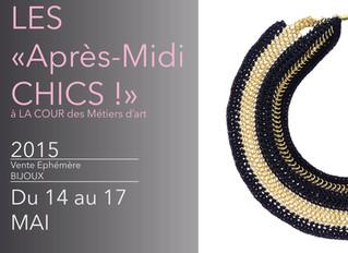 Les Après-Midi Chics - spécial Bijoux Contemporain de Créateurs - mai 2015