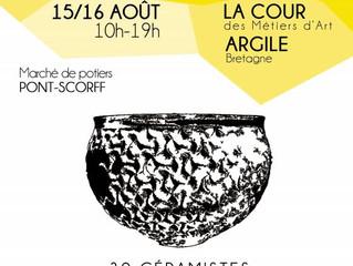 Marché de Potiers de Pont-Scorff - 15 & 16 août 2016