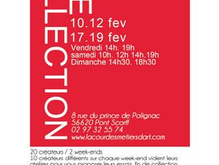 Vide-Collections! Sur 2 weekends: du 10-12 et du 17-19 février 2017