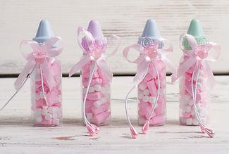 Pink Baby Bottles