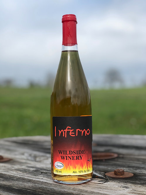 Inferno sweet and spicy white wine