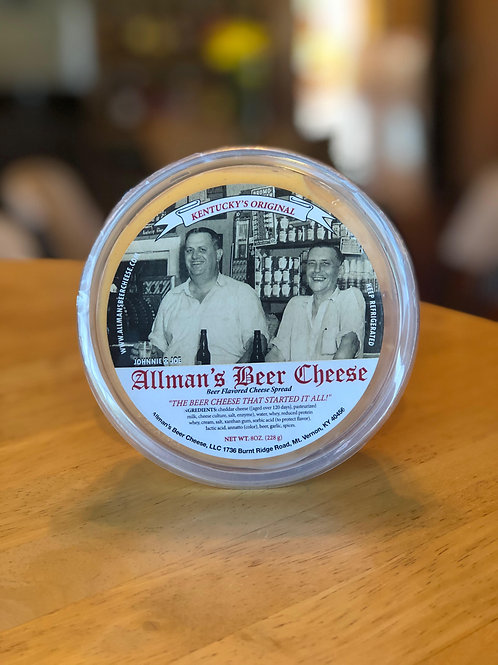 PICKUP ONLY Allman's Beer Cheese