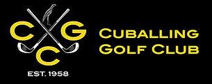 Cuballing Golf Club Logo Hroizontal Blac