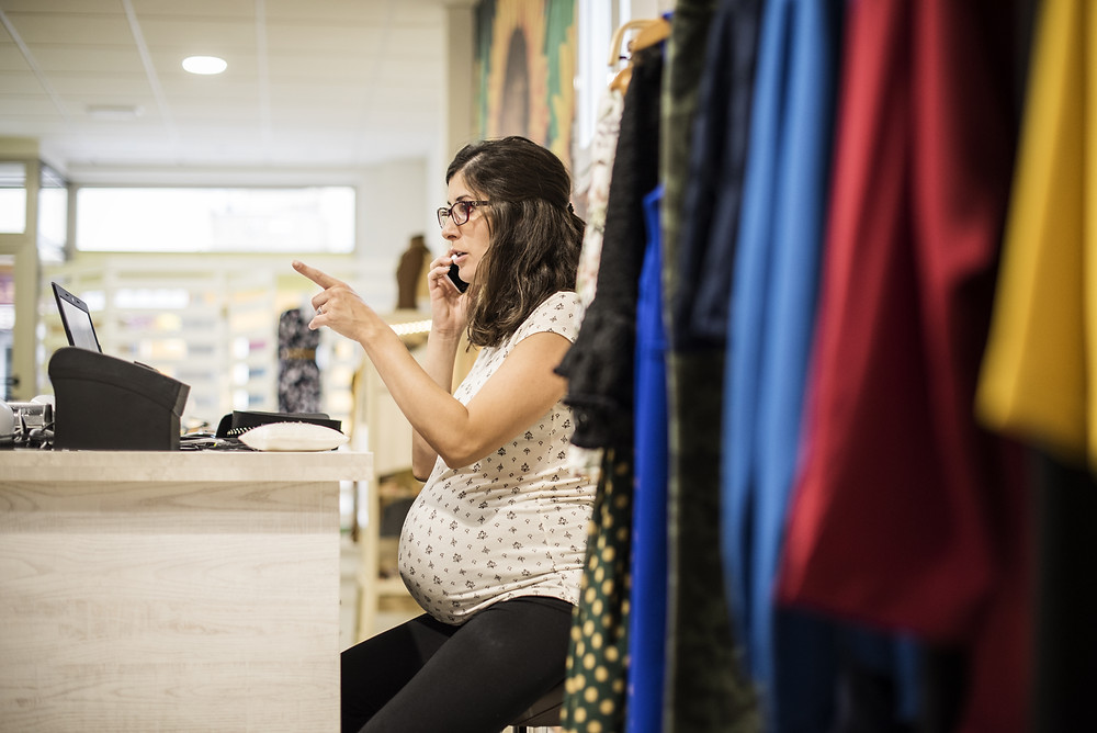 Pregnant employee