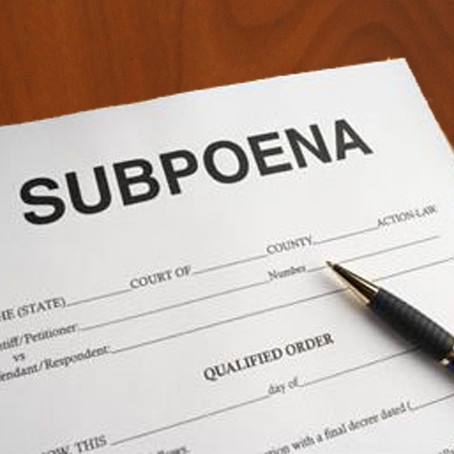 Received a subpoena and copyright notice to divulge your personal details?  Read this first.