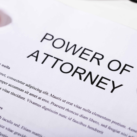 Power of Attorney: Facts and Risks