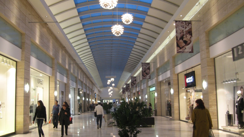 Interior Design Commercial Center Cotroceni Mall