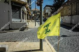 stock-photo-baalbek-lebanon-october-flag