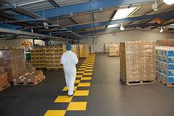 Warehouse Application - Graphite & Yello