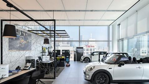 Interior Design DELEK MOTORS Showrooms BMW, MINI, MAZDA, FORD
